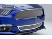 T-Rex Grilles 55530 Upper Class Series&#59; Mesh Bumper Grille Fits 15 Mustang