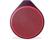 Logitech X100 Speaker System - Wireless Speaker(s) - Red
