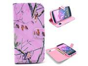 Beautiful Branch Tree Pattern PU Leather Full Body Case with Stand and Card Holder for LG Nexus 5 with Screen Protector