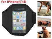 LikeEgg New Portable Waterproof Sport Armband Case Holder for iPhone 4/4S - Black