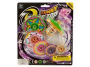 Super Spinning Top Toy with Extra Colorful Discs - Set of 96 (Toys Activity Toys) - Wholesale 9SIA4GM36X3715
