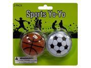 Sports Yo-Yo Set - Set of 24 (Toys Activity Toys) - Wholesale 9SIA4GM36X5629
