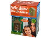 Window Birdhouse with Clear Panel Suction Cups - Set of 1 (Outdoor Living Lawn Garden Decor) - Wholesale 9SIA4GM36Z3705