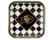 Colorado Buffaloes Lunch Plates Set - Set of 24 (Party Supplies Party Napkins) - Wholesale 9SIA4GM3704446
