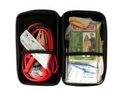 Vehicle Emergency Kit in Zippered Case - Set of 4 (Automotive Supplies Auto Care Maintenance) - Wholesale