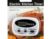 123-Wholesale: Set of 4 Electric Kitchen Timer with Magnetic Clip (Kitchen & Dining, Kitchen Tools & Utensils)