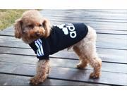 Adidas clothing dog clothes matter sweater fleece sweater -6 color adidog M size black color