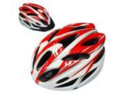 SunGET Outdoor Sports BMX MTB Road Bicycle Cycling Safety Adult Bike Helmet with Visor, Red