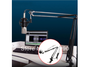 IMAGE® Professional Broadcasting Studio Microphone Mic Stand Boom Scissor with Suspension Arm Shock Mount