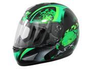 2014 AFX FX-95 Stunt Motorcycle Helmets - Green - Small 9SIA1452T05613