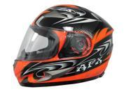 2014 AFX FX-90 Dare Multi Motorcycle Helmets - Orange - X-Small 9SIAAHB4WD3655
