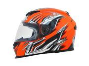 2014 AFX FX-120 Multi Motorcycle Helmets - Safety Orange - X-Large 9SIAAHB4WD4594