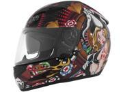 2014 Cyber Us-97 Poker Girl Motorcycle Helmet - X-Small 9SIAAHB4WC9426