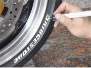Keiti Tire Pens Silver TP300S