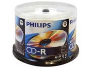 PHILIPS D52N600 700MB 80-min 52x CD-Rs (50-ct Cake Box Spindle)