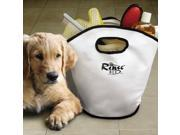 Rinse Ace Coated Canvas Pet Bathing Caddy - White