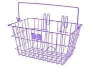 JBikes Lift-Off with Handle, Purple - Beach Cruiser Bicycle Basket 9SIA4M75A89057