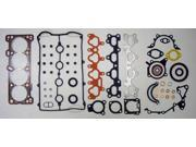 90-93 Mazda Miata MX5 B6E 1.6L 1597cc L4 16V DOHC/8V SOHCB/16V DOHC Turbo Engine Full Gasket Replacement Kit Set FelPro: HS9691PT-1/CS9691