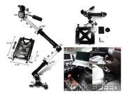 Universal Bolt On Mounting Arm Holder for Laptop/iPad/Tablet/Camera/Camcorder/goPro for Car Seats/Office Chair/Wheelchair