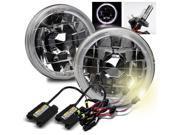 Modifystreet® 4300K H4-2 HID + White LED Halo 4000/4040/5506/H5001/H5006/H5006LL 5.75