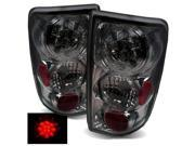 For 95-04 Chevy Blazre/GMC Jimmy Smoke LED Tail Lights Rear Brake Lamps