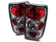 For 1996-2001 Oldsmobile Bravada Smoke Altezza Tail Lights Rear Brake Lamps