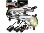 4300K HID Kit/For 11-14 Sonata YF/I45 LED DRL Fog Lights Bumper Driving Lamps