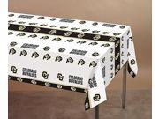 Creative Converting, Collegiate, 724892, 54 x 108 inch Plastic Tablecover, Colorado Buffaloes, Case of 12 9SIV01U4S47114