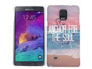 For Samsung Galaxy Note 4 Anchor For The Soul Case Cover