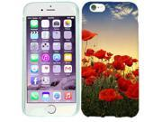 For Apple iPhone 6 Poppy Flowers Case Cover