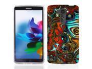 For LG G Vista VS880 Groovy Waves Case Cover