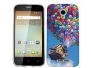 for Alcatel One Touch Elevate Balloon House Phone Cover Case