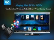 Viaplay Via-TV T1 Android mini PC Smart TV stick dongle box Dual Core Cortex-A9 1.6Ghz CPU- Google Android 4.2.x HDMI streaming Home media player - 1080P full HD excellent for XBMC