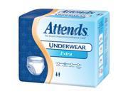 Attends AP0720100 Underwear Extra Absorbency-Med-100/Case