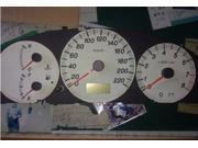 Komingo Dispatch Gminstrument Cluster Gauge / Speedometer Repair KIT Rebuild X27 589 T5 Led 6000klamp to Repair Speedometer, Tachometer, Fuel,temp, Oil or Any Other Gauges