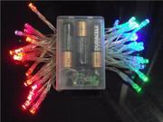 Komingo 4m Battery Power String Lights Operated 40 Leds Mini Fairy String Lights for Christmas Wedding