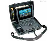 Pelican 1490 Medium Laptop Case, Fitted Tray & Lid Organizer, Olive Drab Green