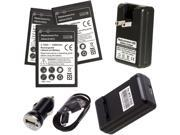 DOCK charger for Motorola HW4X Droid Bionic Atrix 2 XT875 MB865 + 3x 220mAh battery(Us Shipping)