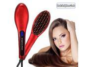 Auto Hair Straightener Comb LCD Ion Brush Electric Hair Massager Anti-Scald Tool 9SIA4PM40S1243