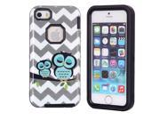 JNTworld Dual-layer High Impact PC+TPU Hybrid Shockproof Tough Armor Heavy Duty Bumper Case Cover Shell for iphone 5s