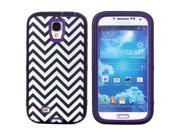 JNTworld 3 in 1 High Impact PC+Silicone Gel Hybrid Zebra stripes Pattern Shockproof Tough Armor Heavy Duty Rugged Bumper Protective Case Cover Shell for Samsung 9SIA4R13GU9964