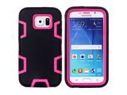 JNTworld 3 in 1 High Impact PC+Silicone Gel Hybrid Shockproof Tough Armor Heavy Duty Rugged Bumper Protective Case Cover Shell for Samsung Galaxy S6 9SIA4R13GV0155