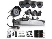 Zmodo 8CH 960H P2P DVR Security System w/ 8 600TVL Outdoor Sony CCD IR Cameras with 1TB HDD