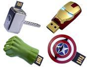 Marvel AVENGERS Captain America Shield USB Flash Drive 16GB 9SIV06X3384799