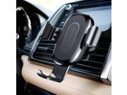 CORN 10W QI Wireless Car Charger Air Vent Holder For iPhone X 8 8 Plus Samsung Galaxy S9 S8 S7/S7 Edge Note 8 Fast Car Mount Wireless Charging Charger Phone Hol