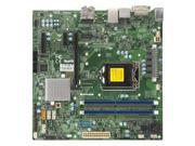 Supermicro X11SSQ-L-O LGA1151/ Intel H110/ DDR4/ SATA3&USB3.0/ A&GbE/ MicroATX Motherboard