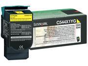 LEXMARK C544X4YG Toner Yellow