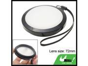 White Balance Lens Filter Cap 72mm for DC DV Camera