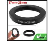 37mm 28mm 37mm to 28mm Black Step Down Ring Adapter for Camera