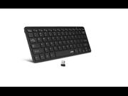 Anker® Ultra-Slim 2.4G Wireless Mini Keyboard for Windows 8, 7, Vista, XP (Black)